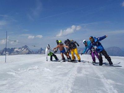 Corso snowboard, weekend, Marilleva