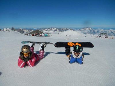 Corso snowboard per bambini 7-12 (5gg),Marilleva