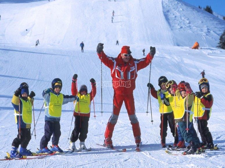 insegnamo ai tuoi piccoli lo sci!
