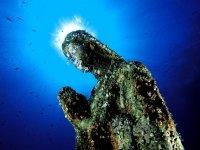 the submerged madonnina