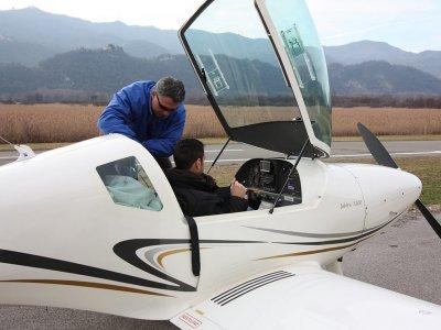 Battesimo dell'aria in aereo biposto Monte Marenzo