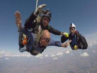 Lancio paracadute tandem foto+video, Torino