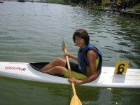 Competizioni in canoa