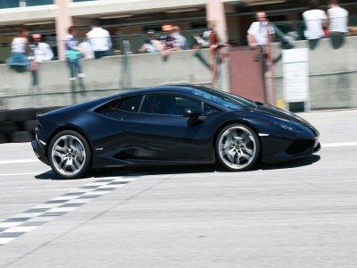 Tre giri su Lamborghini Avio+video, Precenicco