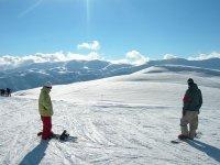 Snowborder a Campo Felice