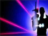 Un fucile laser