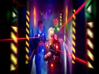 Una guerra laser