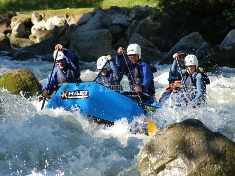 un rafting incredibile
