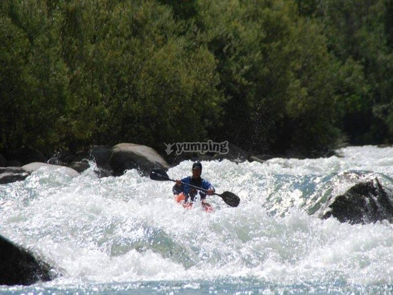 rafting al fiume!