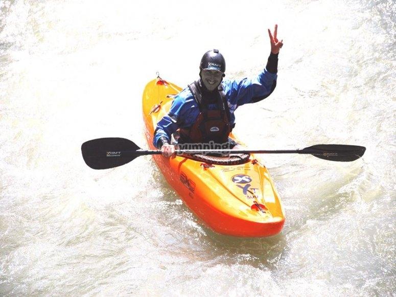 kayak adrenalinico