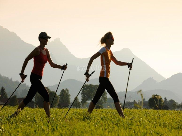 nordic walking natura e allenamento!