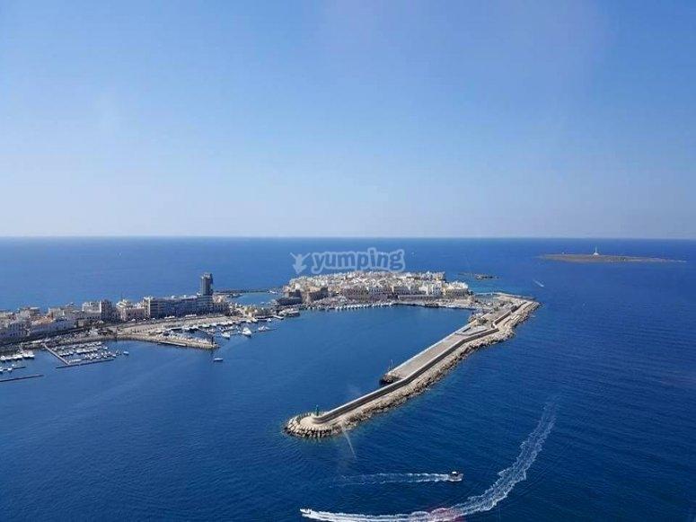 Il porto dall alto