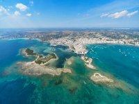Volo Panoramico elicottero su Porto Cesareo 25min