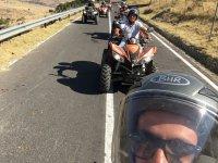 selfie dal quad