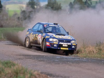 3 giri su una Subaru Impreza a Precenicco