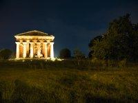 Tempio illuminato