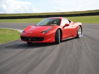 All the power of the Ferrari 458 Italia