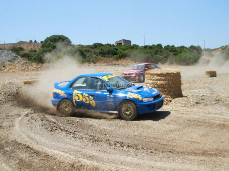 Subaru Impreza 555 drift