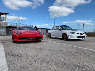 Un giro con una Ferrari a Lombardore