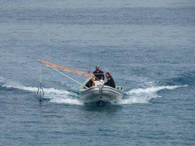 Noleggio gommone 2 ore con skipper Olbia