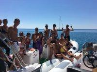 Escursione in barca 4,5 h Badolato Marina