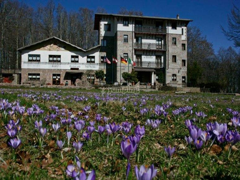 Una bella foto del nostro hotel