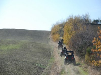Quad excursion and stay 2 people Monte Amiata