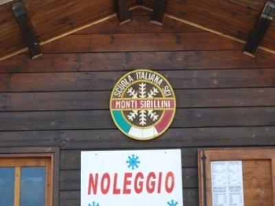 Scuola Sci Monti Sibillini Noleggio Sci