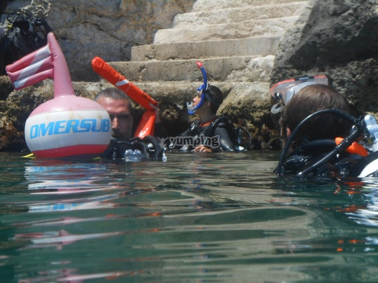 Organizzazione pre-immersione