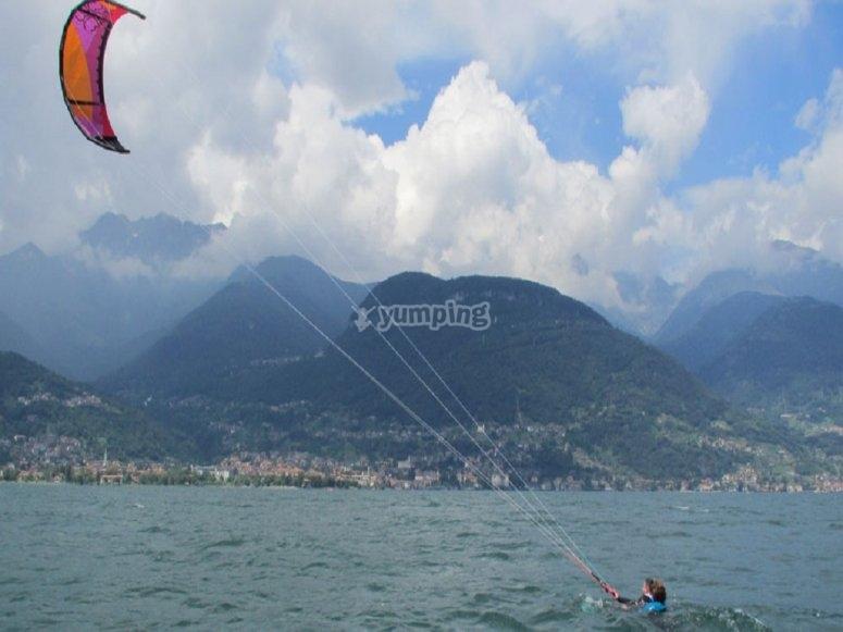 Lezione pratica individuale di kitesurf