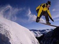 Sullo Snowboard