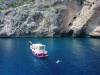 3-hour boat tour on the Adriatic and Ionian Sea