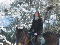 Anche Sulla Neve a Cavallo