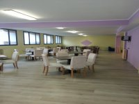 Sala per feste, meeting, attività sportive