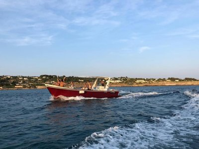 90 minutes private boat trip on the Adriatic
