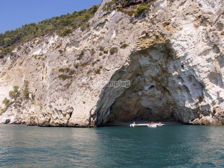 Le grotte garganiche