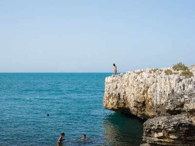 Boat excursion on the Garganica coast 10 hours