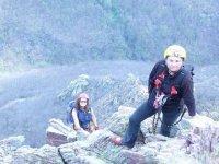 Climbing Pinerolo