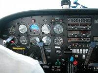 i comandi del nostro aereo