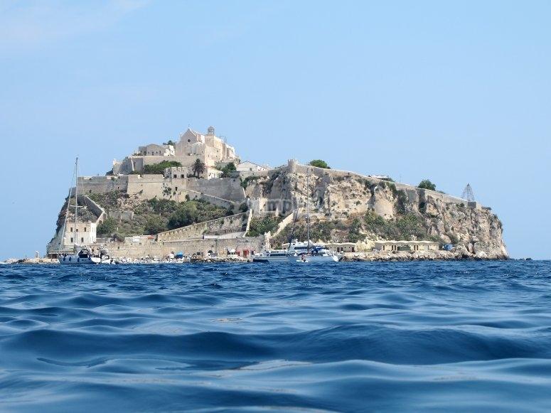 The island of San Nicola
