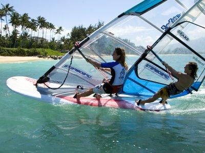 Lezione individuale windsurf Formia