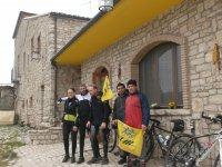 Club MtB in visita a Sant'Elia