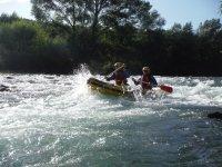 Adrenalina in canoa
