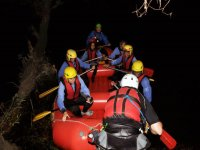 Rafting sotto le stelle