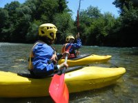 Kayak fluviale troppo bello