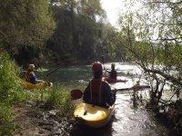 Kayak nel fiume