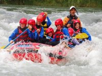 Discese rafting