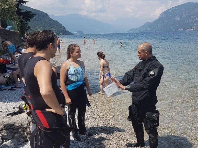 corso con istruttore Open Water Diver