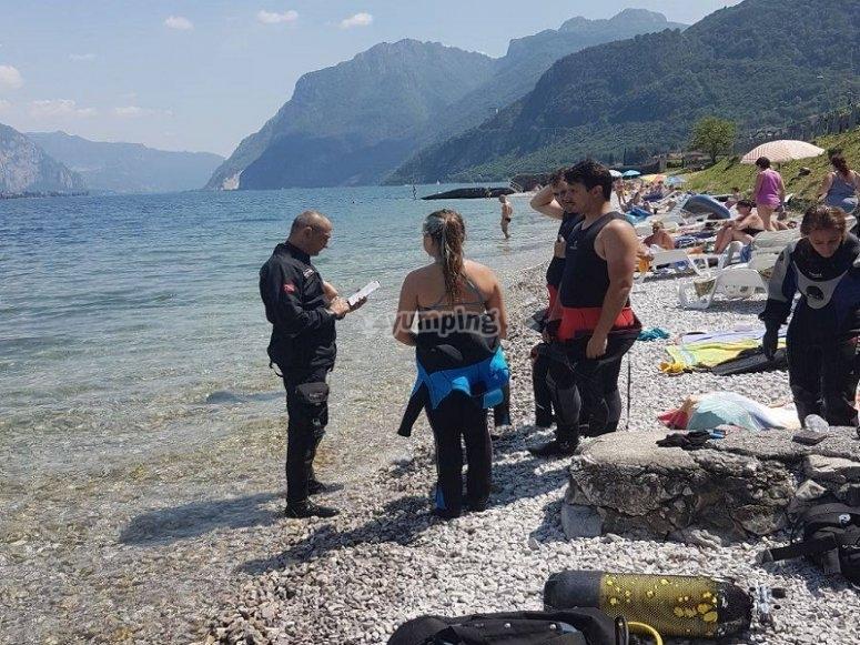 Immersione corso Open Water Diver