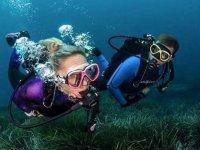 Immersioni in mare per ottenere la certificazione Open Water Diver